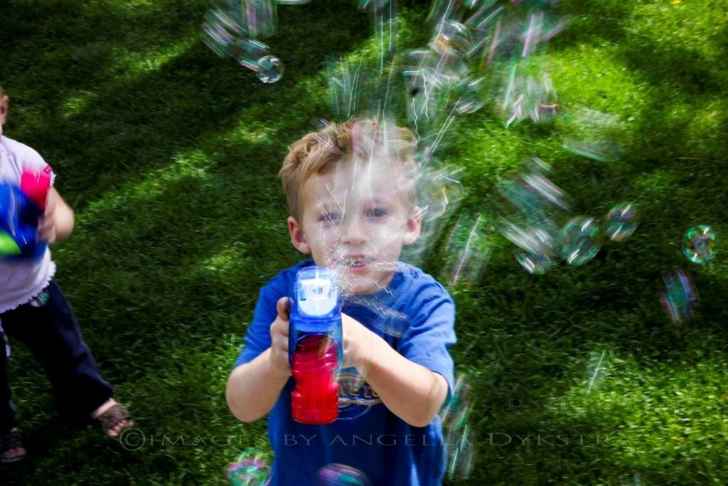 CRAZY bubbles!