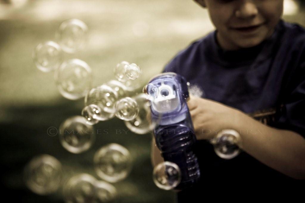 Bubbles!  Bubbles!