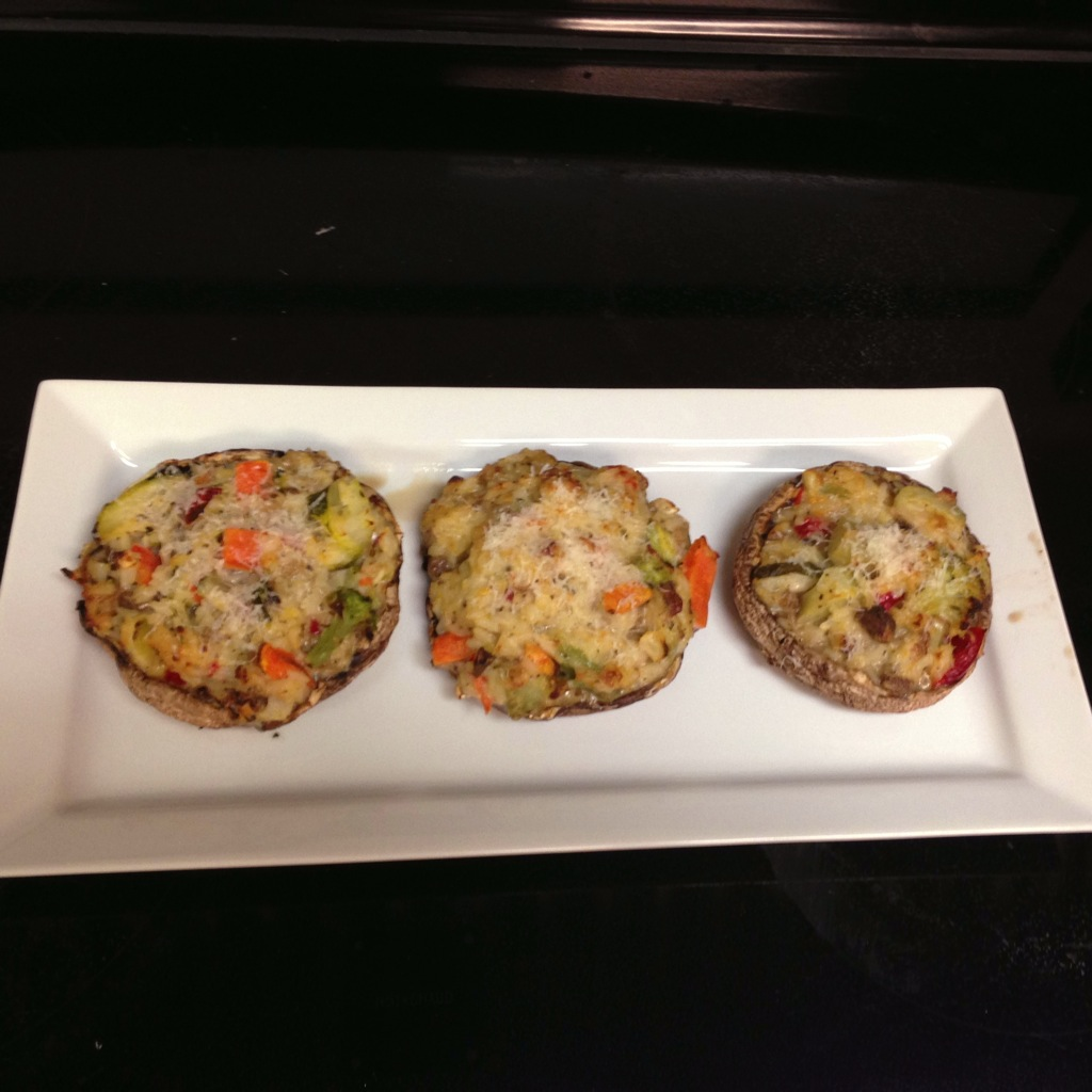 Stuffed mushrooms!